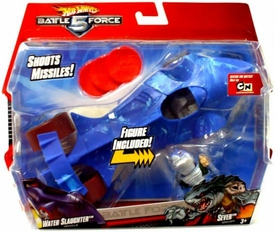 Hot Wheels Battle Force 5 1:24 Scale Vehicle & Figure Water Slaughter & Sever