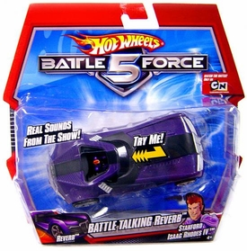 Hot Wheels Battle Force 5 Battle Talking Reverb & Stanford Isaac Rhodes IV