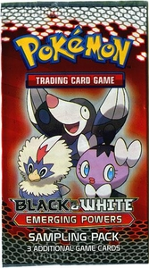 Pokemon Black & White Emerging Powers SAMPLING Booster Pack [3 Cards]