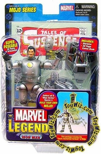 Marvel Legends Series 14 Action Figure 1st Appearance Iron Man [Mojo Build-A-Figure]