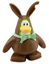 Disney Club Penguin 2 Inch Mini Figure Bunny Costume
