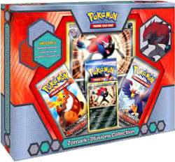 Pokemon Black & White Card Game Zoroark Illusions Collection Box