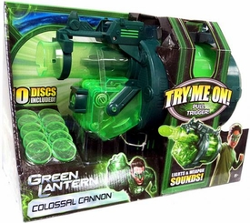 Green Lantern Movie Lights & Weapon Sounds Toy Colossal Cannon