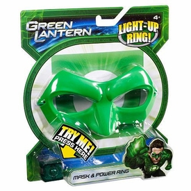 Green Lantern Movie Mask & Power Ring