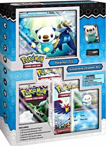 Pokemon Black & White Starter Figure Box Outstanding Oshawott