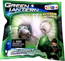 Green Lantern Movie Exclusive Die-Cast Power Ring [Keychain Included!]