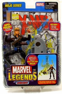 Marvel Legends Series 14 Action Figure Longshot [Mojo Build-A-Figure]