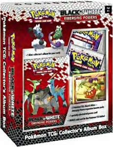 Pokemon Card Game Emerging Powers Mini Collector's Album Box [Includes 2 Booster Packs & 1 Darumaka Foil Card]