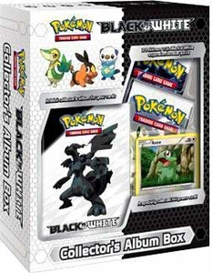 Pokemon Black & White Mini Collector's Album Box [2 Booster Packs & 1 Axew Foil Card]