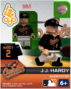 OYO Baseball MLB Generation 2 Building Brick Minifigure J.J. Hardy [Baltimore Orioles]