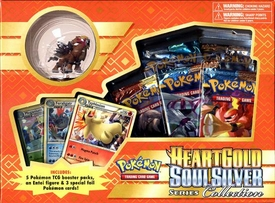 Pokemon Card Game Heartgold Soulsilver Series Collection Box [5 Booster Packs, 3 Foil Cards & Entei Basic Figure]