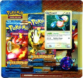 Pokemon Legend HS Triumphant Special Edition [3 Booster Packs & 1 Random Foil Card]