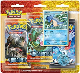 Pokemon Card Game Legend HS Undaunted Special Edition [3 Booster Packs & 1 Random Foil Card]