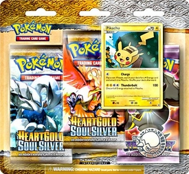 Pokemon Legend HeartGold SoulSilver Special Edition [3 Booster Packs & 1 Random Foil Card]