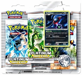 Pokemon Card Game Arceus Special Edition [3 Booster Packs & 1 Darkrai Holo Rare Card]