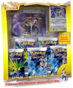 Pokemon Card Game Arceus (PL4) Deluxe 5-Pack Poster Box