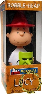 Funko Peanuts Wacky Wobbler Bobble Head Great Pumpkin Lucy