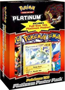 Pokemon Platinum Poster Box [2 Booster Packs, 2 Promo Packs, 1 Poster & 1 Promo Card] BLOWOUT SALE!