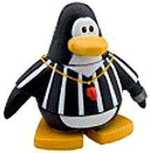Disney Club Penguin 2 Inch Mini Figure Referee