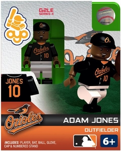 OYO Baseball MLB Generation 2 Building Brick Minifigure Adam Jones [Baltimore Orioles]