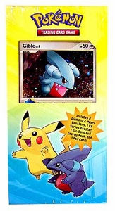 Pokemon Diamond & Pearl Power Pack #1 with Gible Promo [3 Booster Packs Plus 6 Foil Energy Cards]
