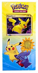Pokemon Diamond & Pearl Power Pack #1 with Pikachu Promo [3 Booster Packs Plus 6 Foil Energy Cards]