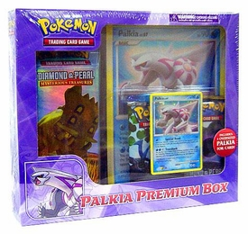 Pokemon Card Game Palkia Premium Box [1 Deck, 2 D&P Booster Packs, 1 Palkia Foil Card & 1 Oversized Palkia Card]