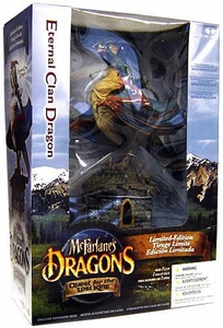 McFarlane Toys Dragons Series 1 RE-PAINT DeluxeAction Figure Limited Edition Boxed Set Eternal Clan Dragon BLOWOUT SALE!