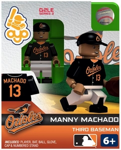 OYO Baseball MLB Generation 2 Building Brick Minifigure Manny Machado [Baltimore Orioles]