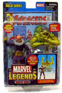 Marvel Legends Series 14 Action Figure Baron Zemo Unmasked Variant [Mojo Build-A-Figure]