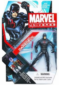 Marvel Universe 3 3/4 Inch Series 17 Action Figure #04 Shadowland Daredevil