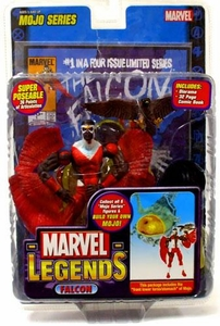 Marvel Legends Series 14 Action Figure Falcon Modern Variant [Mojo Build-A-Figure]