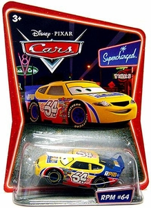 Disney / Pixar CARS Movie 1:55 Die Cast Car Series 2 Supercharged RPM #64