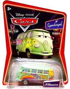Disney / Pixar CARS Movie 1:55 Die Cast CarSeries 2 Supercharged  Fillmore