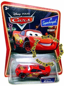 Disney / Pixar CARS Movie 1:55 Die Cast Car Series 2 Supercharged Lightning McQueen