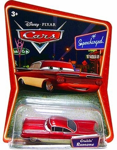 Disney / Pixar CARS Movie 1:55 Die Cast Car Series 2 Supercharged Cruisin' Ramone [Red & White]