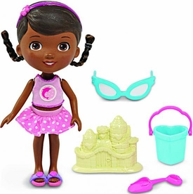 Disney Doc McStuffins 5 Inch Action Figure Doll Swim Time Doc