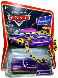 Disney / Pixar CARS Movie 1:55 Die Cast Car Series 2 Supercharged Ramone [Purple]