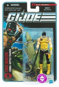 GI Joe Pursuit of Cobra 3 3/4 Inch Action Figure Croc Master [Cobra Reptile Trainer]