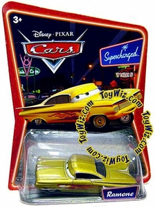 Disney / Pixar CARS Movie 1:55 Die Cast Car Series 2 Supercharged Ramone [Gold]
