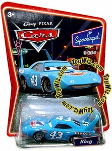 Disney / Pixar CARS Movie 1:55 Die Cast Car Series 2 Supercharged King