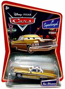 Disney / Pixar CARS Movie 1:55 Die Cast Car Series 2 Supercharged Tex Dinoco