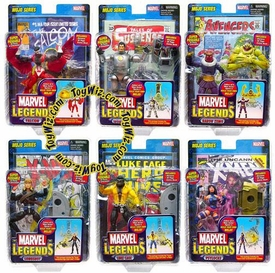 Marvel Legends Series 14 Set of 6 Action Figures [Mojo Build-A-Figure]