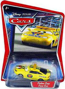 Disney / Pixar CARS Movie 1:55 Die Cast Car Piston Cup Pace Car [Charlie Checker]