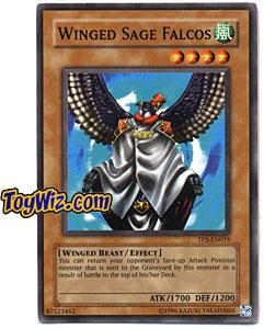 YuGiOh Tournament Pack 5 Single Card TP5-EN019 Winged Sage Falcos