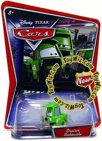 Disney / Pixar CARS Movie 1:55 Die Cast Car Bruiser Bukowski
