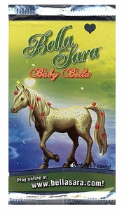 Bella Sara Horses Trading Card Game Series 7 Baby Bella Booster Pack