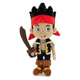 Disney Exclusive Jake & the Never Land Pirates 14 Inch Plush Jake