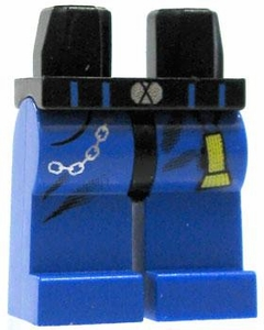 LEGO LOOSE Legs Blue Legs with Chain and Flashlight