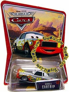 Disney / Pixar CARS Movie 1:55 Die Cast Car Series 2 Supercharged Darrell Cartrip Very Hard to Find!